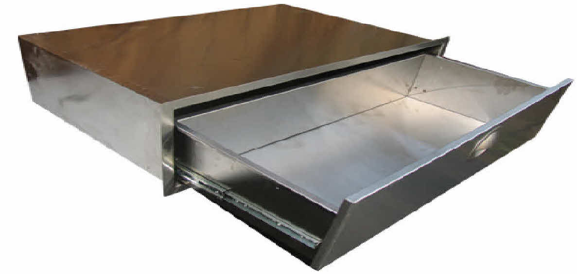 Pcm 260 Series Stainless Steel Drawer